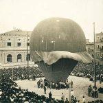 Globus captiu (Crèdit: Arxiu Municipal d´Alacant, Col·lecció fotogràfica Francisco Sánchez).